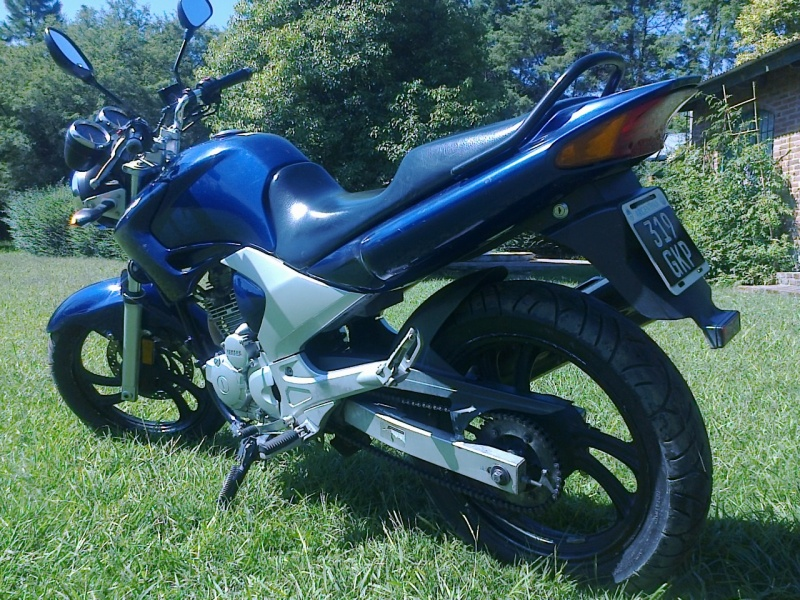 Yamaha YBR 250 250 cm3, 2010 l.