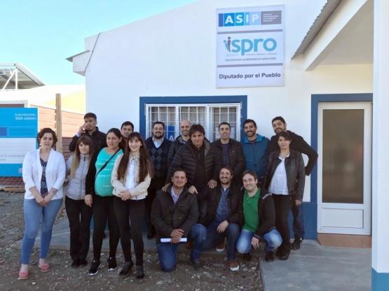 ASIP, ISPRO y el Registro Civil pusieron en valor sus delegaciones