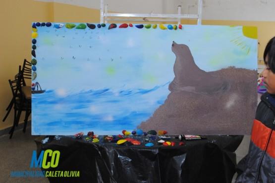 Finalizó el Taller de Arte y Pintura del proyecto
