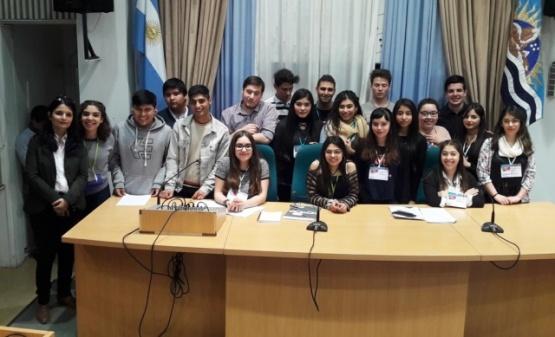 Finalizó la instancia provincial el Parlamento Juvenil Mercosur 2017