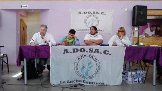Adosac decidió paro y movilización para el 7 de noviembre