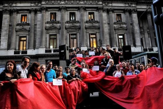Asamblea Popular por la Nueva Ley de VIH y Hepatitis: la sociedad civil se volvió a manifestar en el Congreso