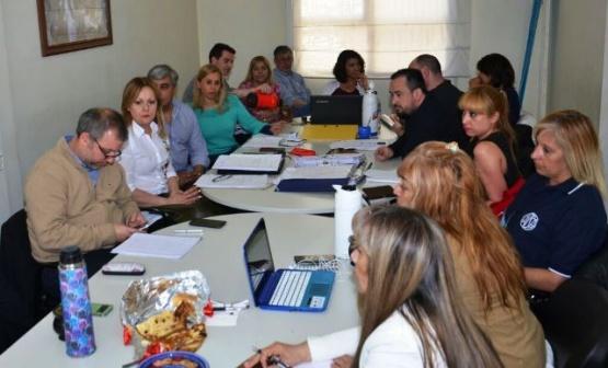 En el Ministerio se lleva adelante la paritaria laboral de salud