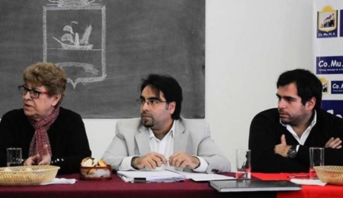 COMUNA trató el proyecto con el Dip. Gómez.