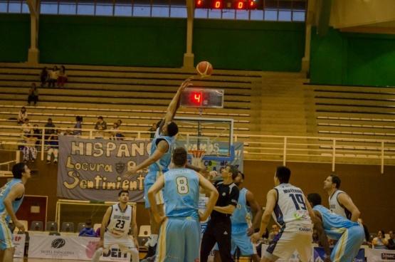 Hispano ganó el primer partido ante Bahía