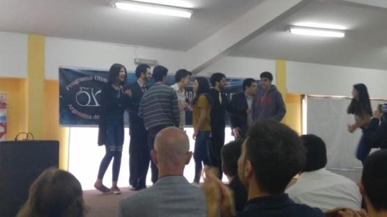 Riogalleguense logró el bronce en la Olimpiada Nacional de Química