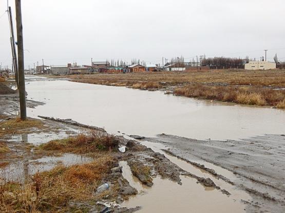 La Junta Vecinal del San Benito presentó un proyecto para resolver inundaciones