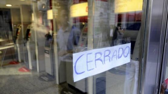 Este lunes no habrá atención bancaria en todo el país
