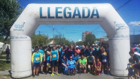 Los bancarios largaron con su Primera Maratón Homenaje