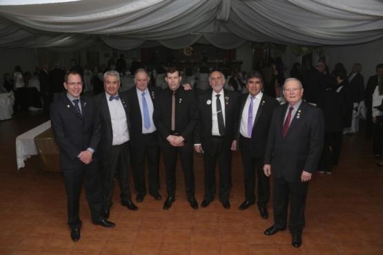 El Rotary se vistió de gala para festejar sus 50 años