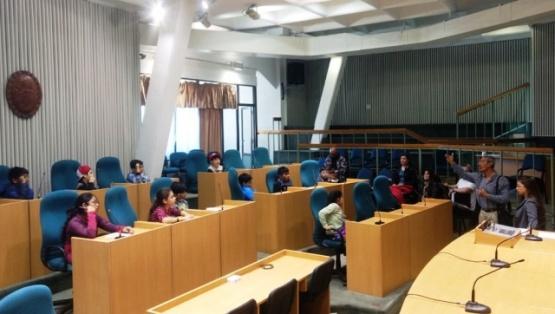 Alumnos de Río Turbio visitaron la Cámara de Diputados