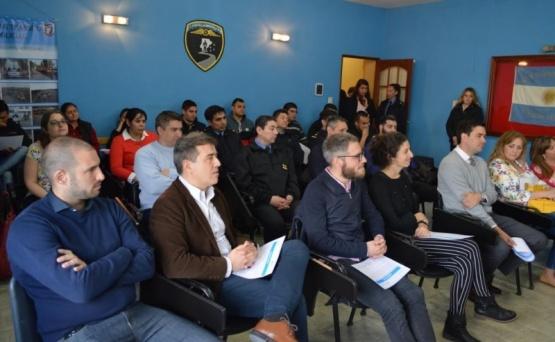 Finalizó la capacitación del programa de asistencia de personas bajo vigilancia