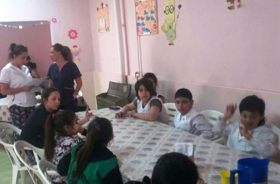 Hubo jornada de Salud Bucal en el comedor Nº44