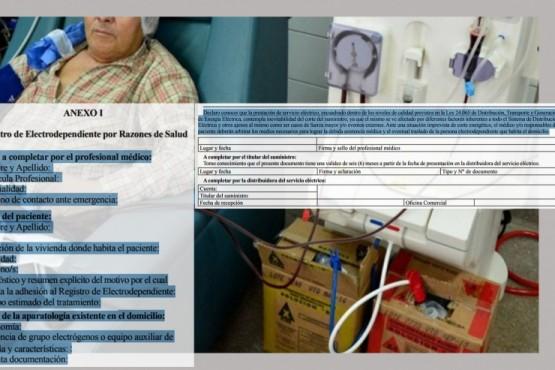 Crearán registro de electrodependientes para que accedan a beneficios de la ley