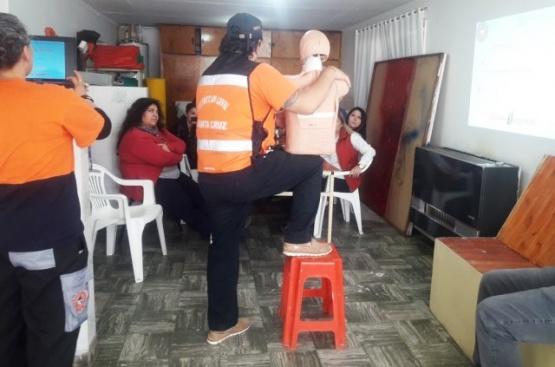 Personal Municipal es capacitado enPrimeros Auxilios y RCP