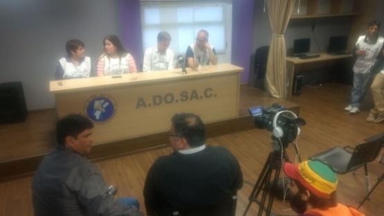 ADOSAC anunció paro para el lunes