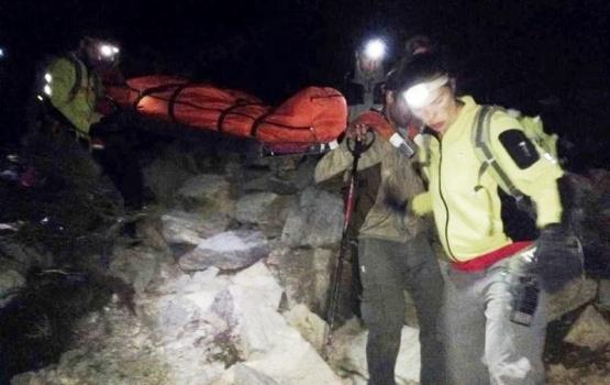 Rescatan a una mujer accidentada en el Parque Nacional