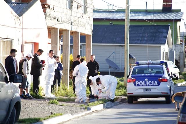 El cadáver de la víctima fue hallado en el pasaje Los Hornos 595 en el Barrio del Carmen.