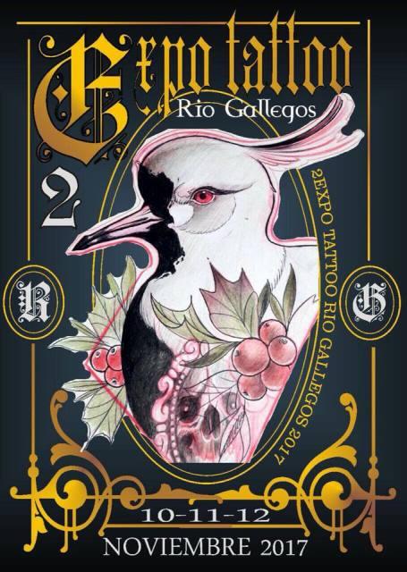Última jornada de Expo Tattoo en Río Gallegos