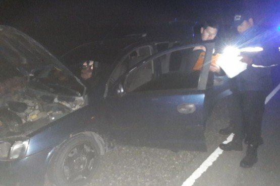 Robo de auto en 28 de Noviembre terminó con tres demorados en Palermo Aike