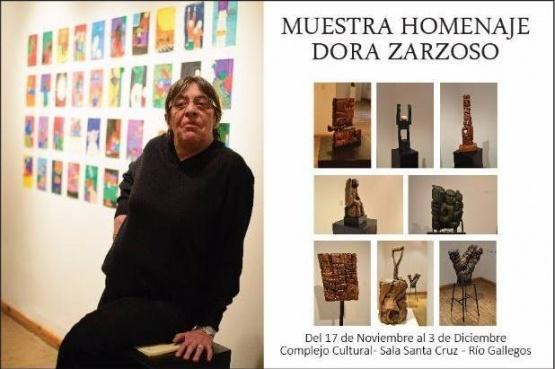 Homenajearán a la reconocida artista Dora Zarzoso