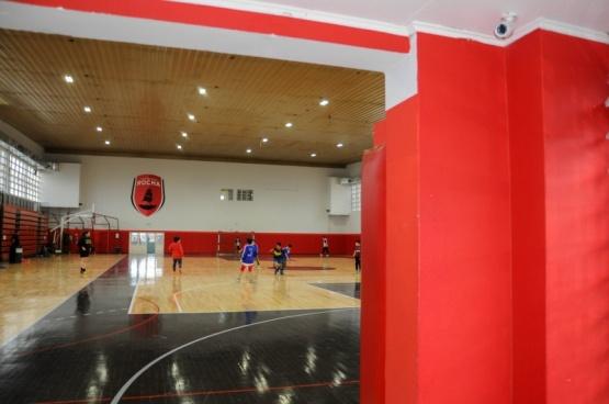 Colocaron cámaras y monitoreo en el gimnasio Juan Bautista Rocha