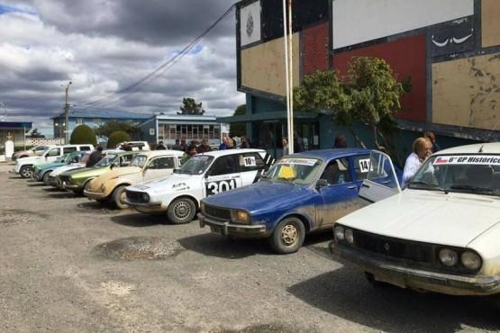 Ganadores locales en el Rally