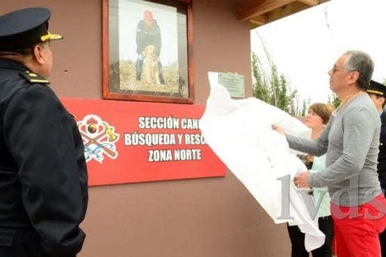 Inauguraron remodelación de área Canes de Rescate en Bomberos de Zona Norte