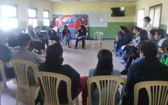 Se desarrolló taller de Sensibilización Sobre Violencia Simbólica