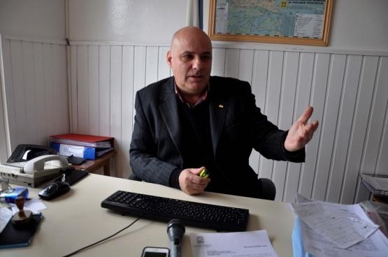 Miguel D'abraccio, titular de Comercio.