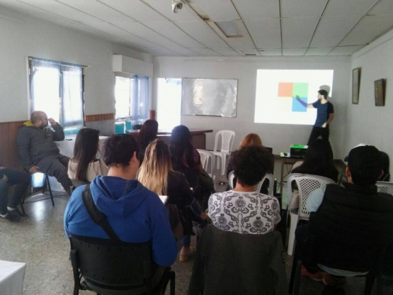 Germán Drexler dictó capacitación en Perito Moreno
