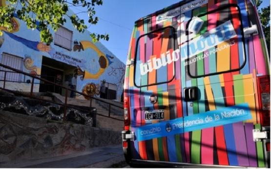 """""""Libros en Movimiento"""" convoca a las Bibliotecas Populares de Santa Cruz"""