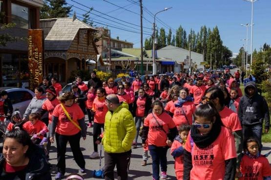 Gran participación en caminata solidaria