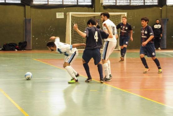Jornada de Fútbol de Salón en el Gimnasio 17 de Octubre