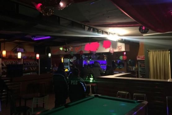 Hubo controles en bares y pools