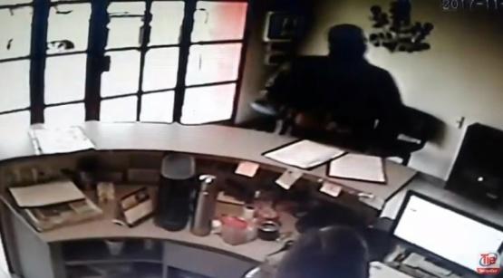 Fotograma del video capturado en este medio.