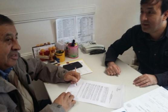 Firma de convenio para construcción del Albergue y SUM Municipal
