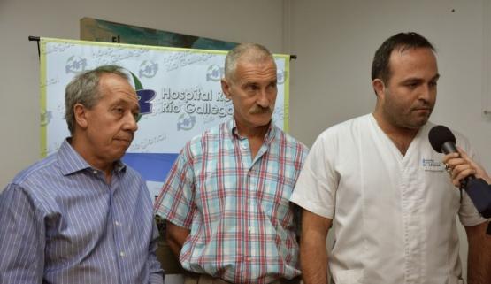 Profesionales del HRRG y del Hospital de Niños trabajaron conjuntamente
