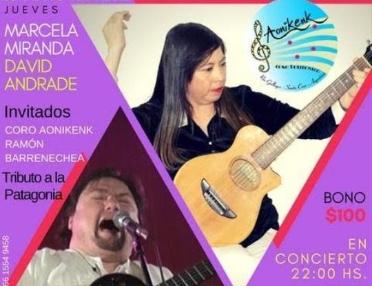 Llega al Ciclo MUSAC el folklore de Marcela Miranda y David Andrade