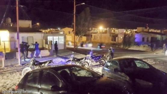 Intensos patrullajes en barrios y zona céntrica de Caleta Olivia