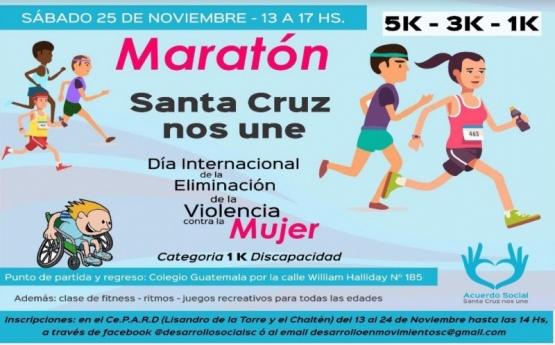 Información sobre la maratón.