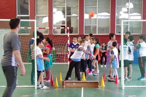 Encuentro provincial de atletismo de escuelas EIDE