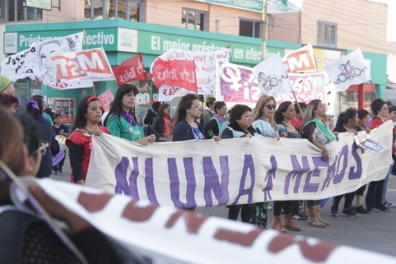 Marcharon hacia Kirchner y San Martín. (C.G)