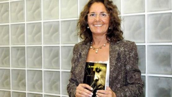 Angelina Covalschi, organizadora del encuentro.