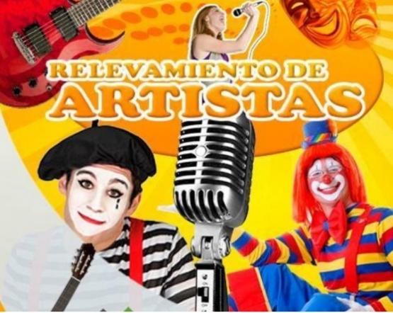 Realizan padrón de artistas en Las Heras