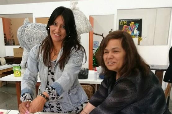 Trabajos en el Centro Integral de la Mujer
