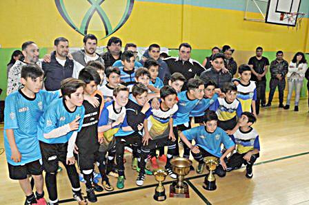 "Finalizó el Torneo de fútbol infantil Miguel ""Chula"" Vera"