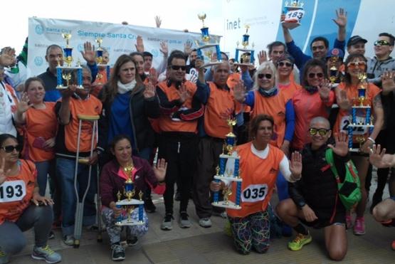 Presentes en la maratón