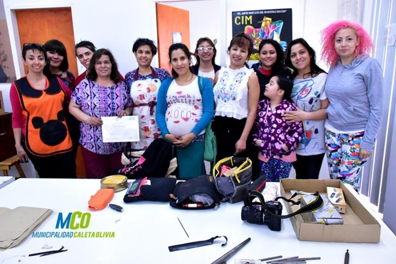 La actividad se llevó a cabo en Centro Integral de la Mujer.