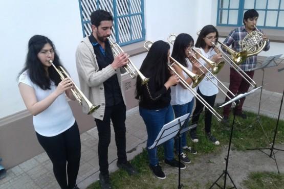La Orquesta del Barrio audicionó en el MAEM (C.G)